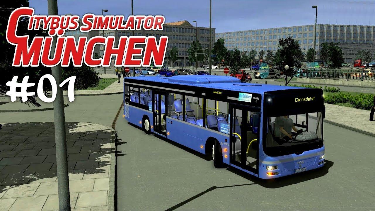 cbs 2 01 unser start vom betriebshof let 39 s play city bus simulator m nchen youtube. Black Bedroom Furniture Sets. Home Design Ideas
