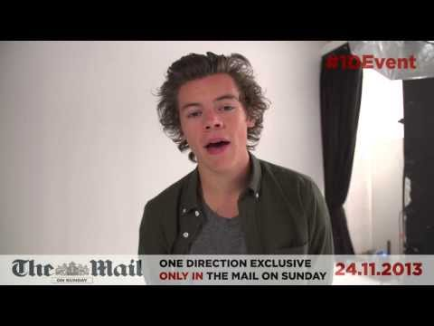 Event Mag, One Direction Exclusive - 24.11.2013