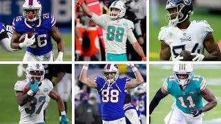 AFC East dream team: What are the tough cuts? N'Keal Harry trade? Will Zack Ertz ever get traded?