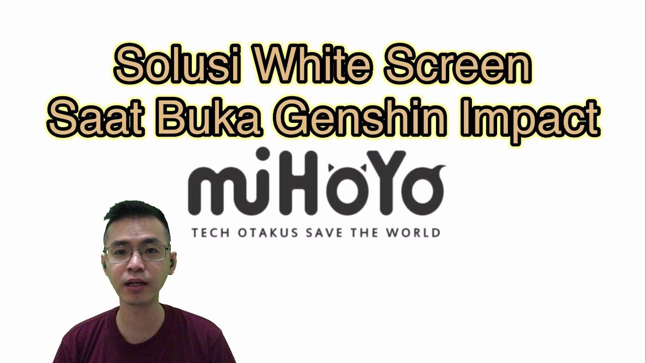Solusi White Screen Genshin Impact Ios Youtube
