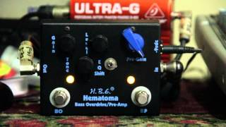 HomeBrew Electronics Hematoma Bass Overdrive Preamp