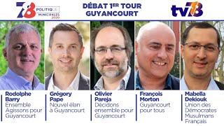 Municipales 2020. Guyancourt. Débat du 1er tour.