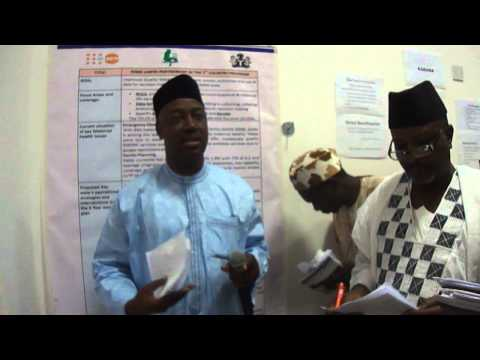 Sokoto state Ip's presentation at the Validation meeting