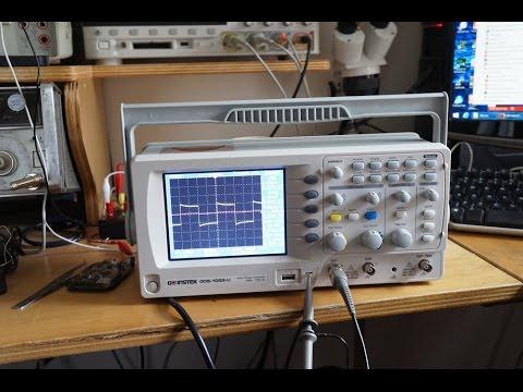 Jack Ganssles review of GW Instek GDS-1052 oscilloscope