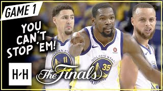Warriors BIG 3 Full Game 6 Highlights vs Cavaliers (2018 NBA Finals) - Stephen Curry, Durant & Klay!