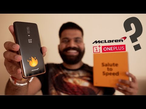 OnePlus 6T McLaren Edition Unboxing & First Look - 10GB RAM & WARP Charge