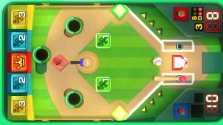 Wii Party U - Tabletop Baseball - Vs Master Cpu