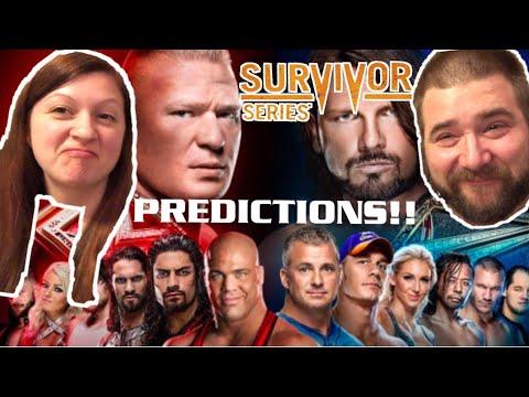 CRAZIEST WWE SURVIVOR SERIES 2017 PPV PREDICTIONS CHALLENGE EVER! HEEL WIFE LOVES WWE PREDICTIONS!