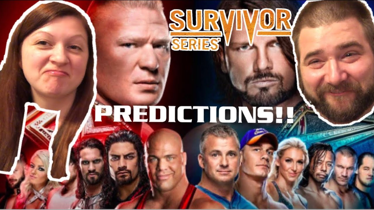 Craziest Wwe Survivor Series 2017 Ppv Predictions Challenge Ever