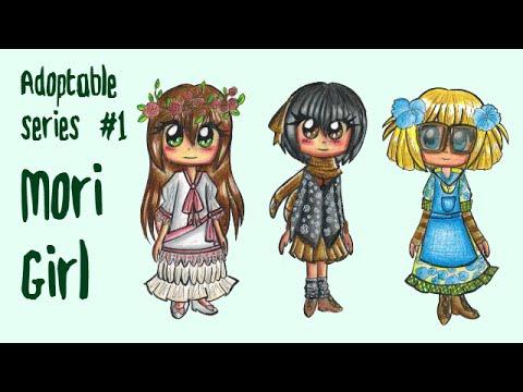 Adoptable Series #1 Mori Girl