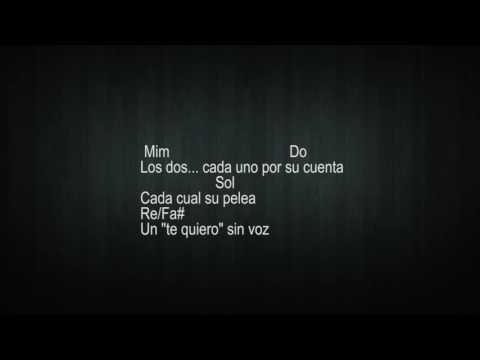 Ya no (Manuel Carrasco) Karaoke