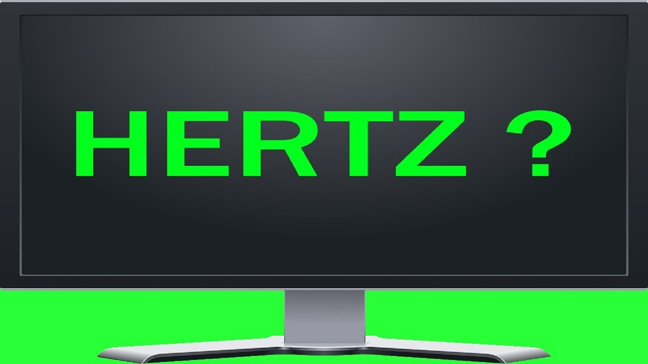 How To Check Monitors Hertz Refresh Rate Frequency 2 Ways Youtube