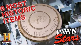 Pawn Stars: All Time Historic Items (6 Amazing Pieces of American History) | History