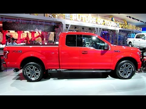 2015 Ford F150 XLT with Snow Removal Gear - Exterior,Interior Walkaround - 2014 Detroit