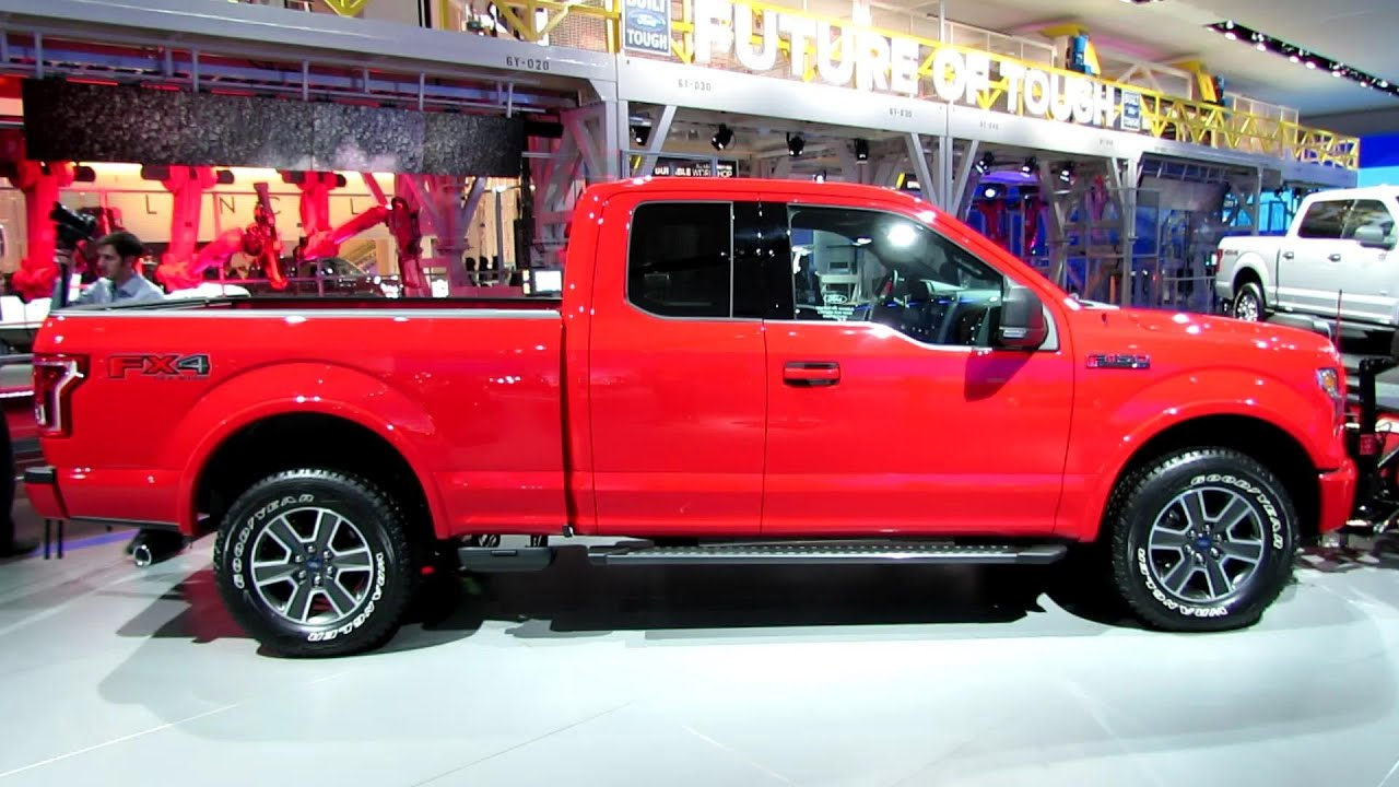 2015 ford f150 xlt with snow removal gear exteriorinterior walkaround 2014 detroit youtube