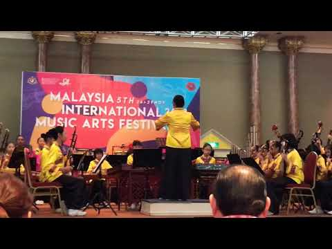 Malaysia 5th international 2018 Music Art Festival By Ave Maria Primary School