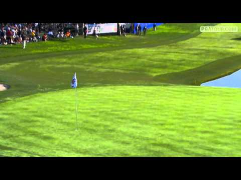 PGA Tour - Farmers Insurance Open 2011 - Shot Of The Day - Hunter Mahan