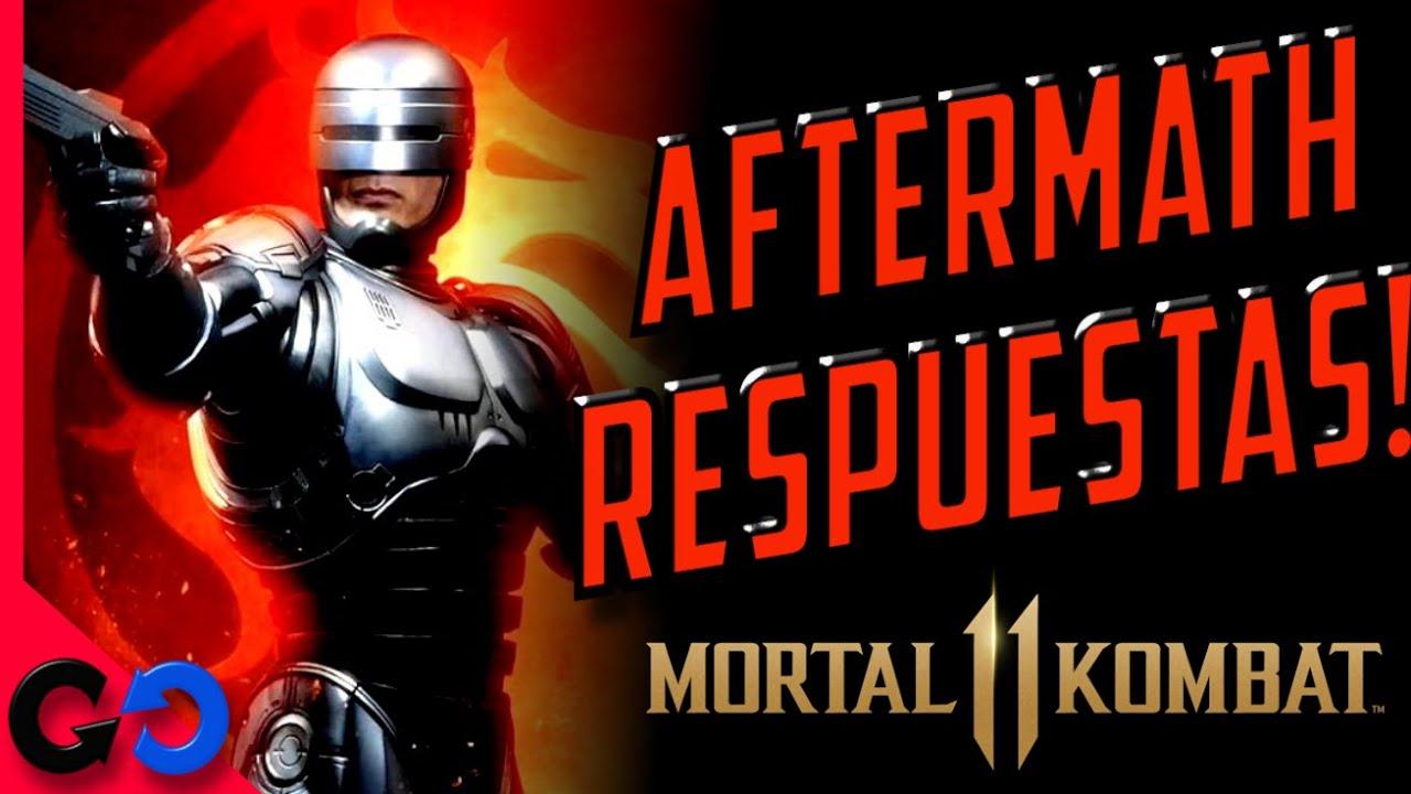Morta Kombat 11 Especial de RESPUESTAS  MK 11 AFTERMATH!!