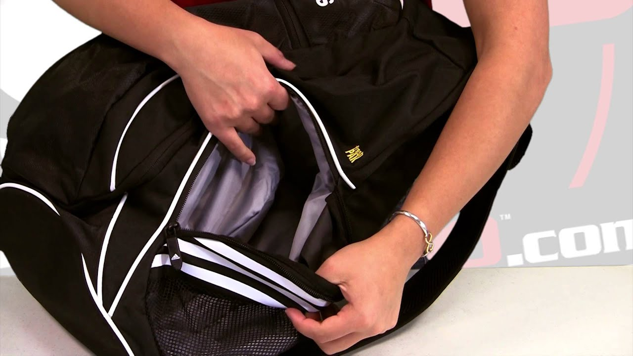 ef80fa57b9cf adidas Estadio Team Backpack Video Review - SoccerPro.com - YouTube