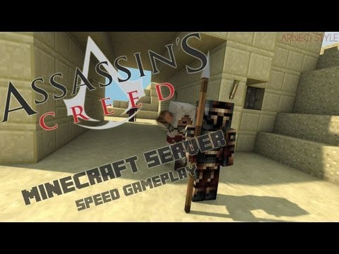 Assassin's Creed | Minecraft | Server | Gameplay | Arneo Style