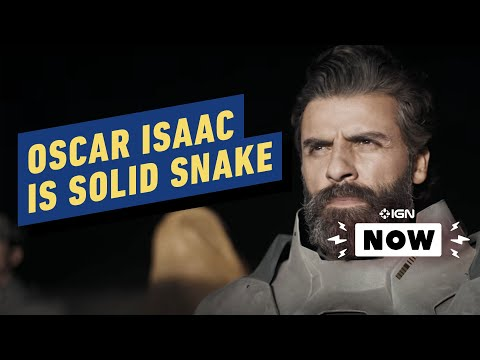 Metal Gear Solid Movie Casts Oscar Isaac - IGN Now