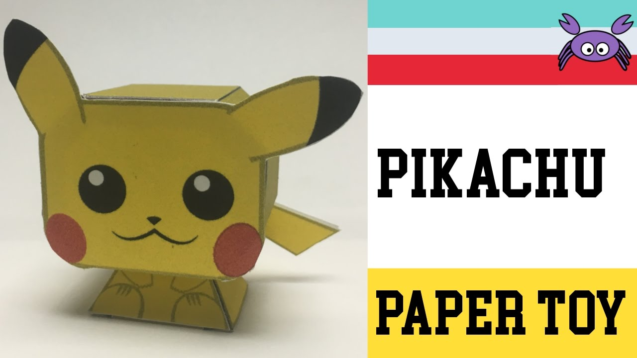 How to Make a Pikachu Paper Toy ( Papercraft ) (free template) by ...
