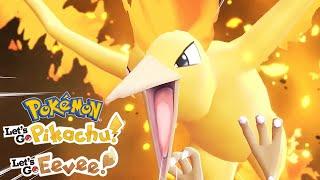 Pokemon: Let's Go, Pikachu! And Let's Go, Eevee! - Pokemon Go And Legendary Pokemon Trailer