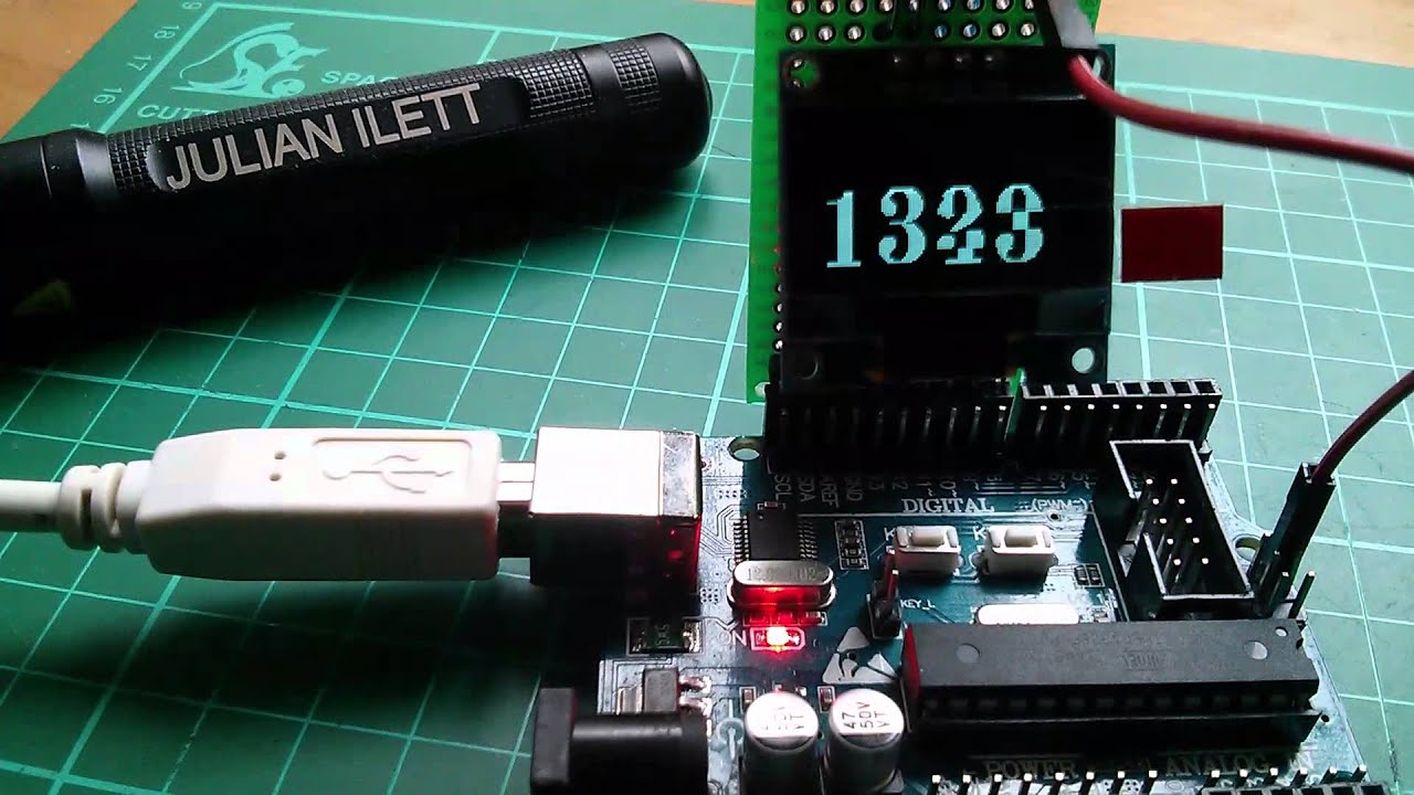 Arduino OLED Display and the u8glib Picture Loop