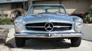 1966 Mercedes-Benz 230SL Blue