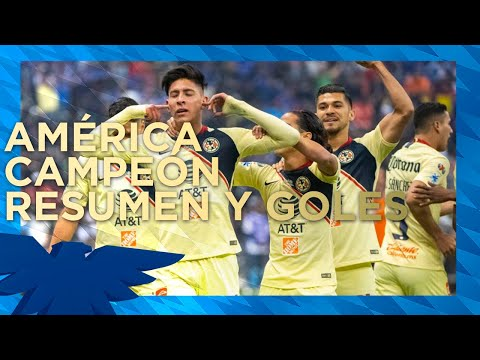 CAMPEONES‼️ Club América 2-0 Cruz Azul | RESUMEN - Gran Final - Vuelta | AP2018 | LigaMX