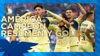 CAMPEONES‼️ Club América 2-0 Cruz Azul ...