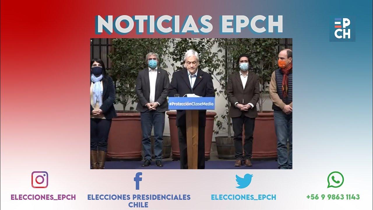 """Piñera impulsa 4 medidas para """"ayudar"""" a la clase media chilena"""