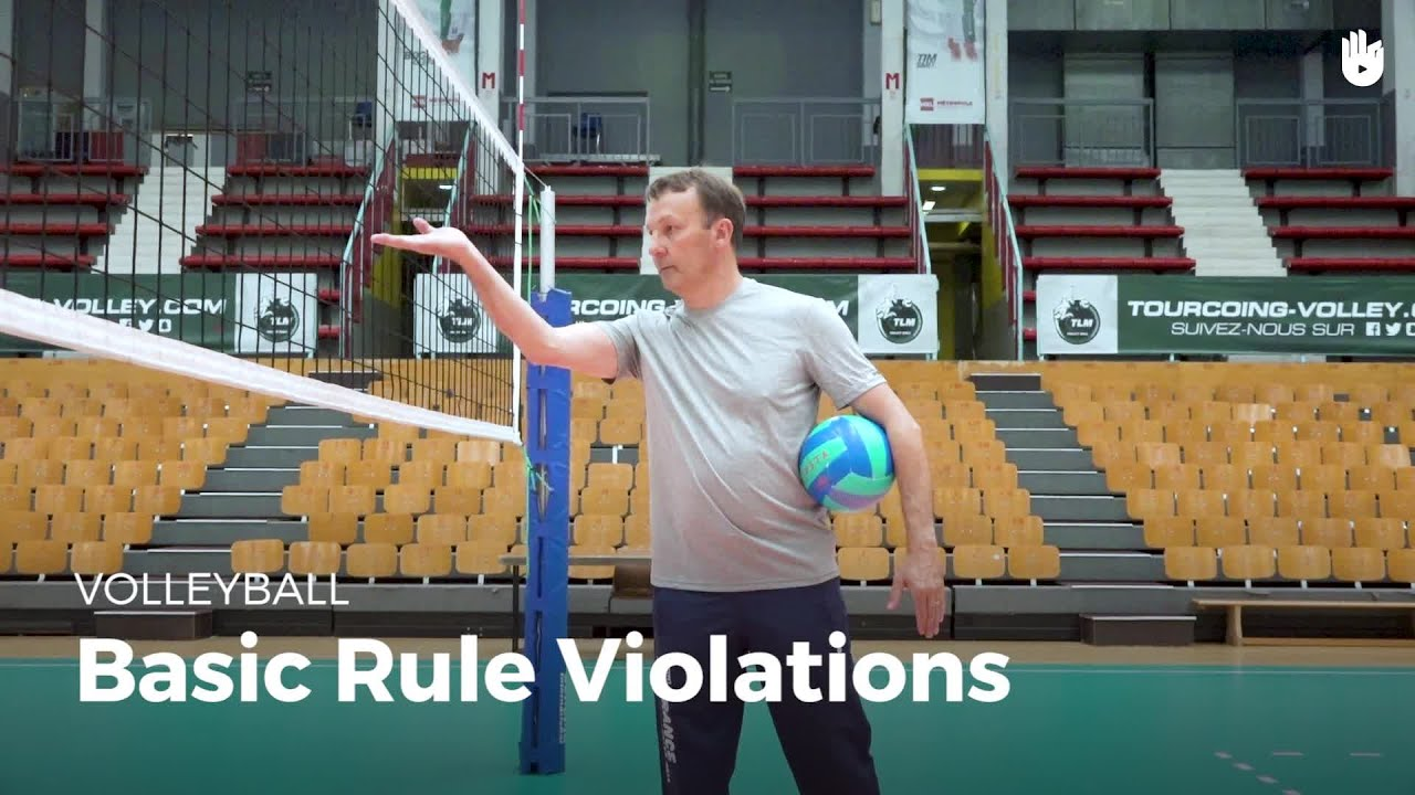 Basic Rule Violations Volleyball Youtube