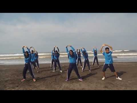 Senam Aerobik I XI IPA 3 I SMAN 1 KROYA I 2017 I Dangdut Remix I Ala Korea I Menurunkan Berat Badan