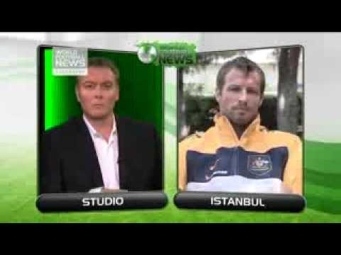 Lucas Neill gives us his thoughts on Harry Kewell's burst up with Robbie Slater - part 1