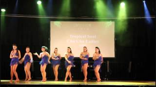 SIBF 2014   Tropical Soul Cha Cha Ladies   Saturday night