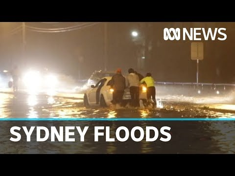 Sydney Residents Advised To Stay Home As Flooding Intensifies After Torrential Rain | ABC News
