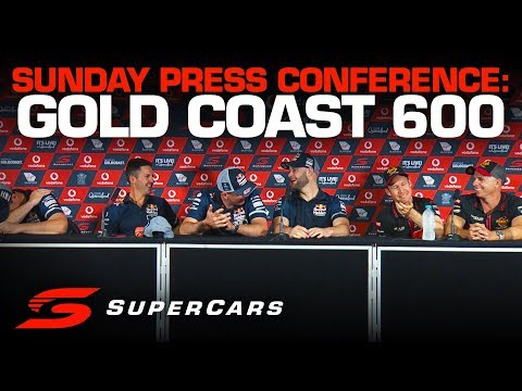 Sunday Press Conference: Gold Coast 600 | Supercars Championship 2019