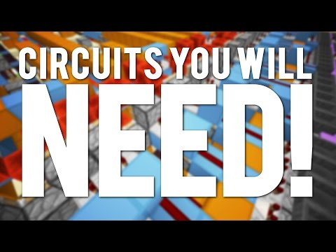 Minecraft: 10 Redstone Circuits You WILL NEED!