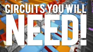 Repeat youtube video Minecraft: 10 Redstone Circuits You WILL NEED!