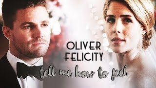 Скачать Oliver Felicity Tell Me How To Feel 4x16