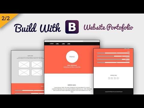 belajar-membuat-website-portofolio-dengan-bootstrap-4---koding(2/2)