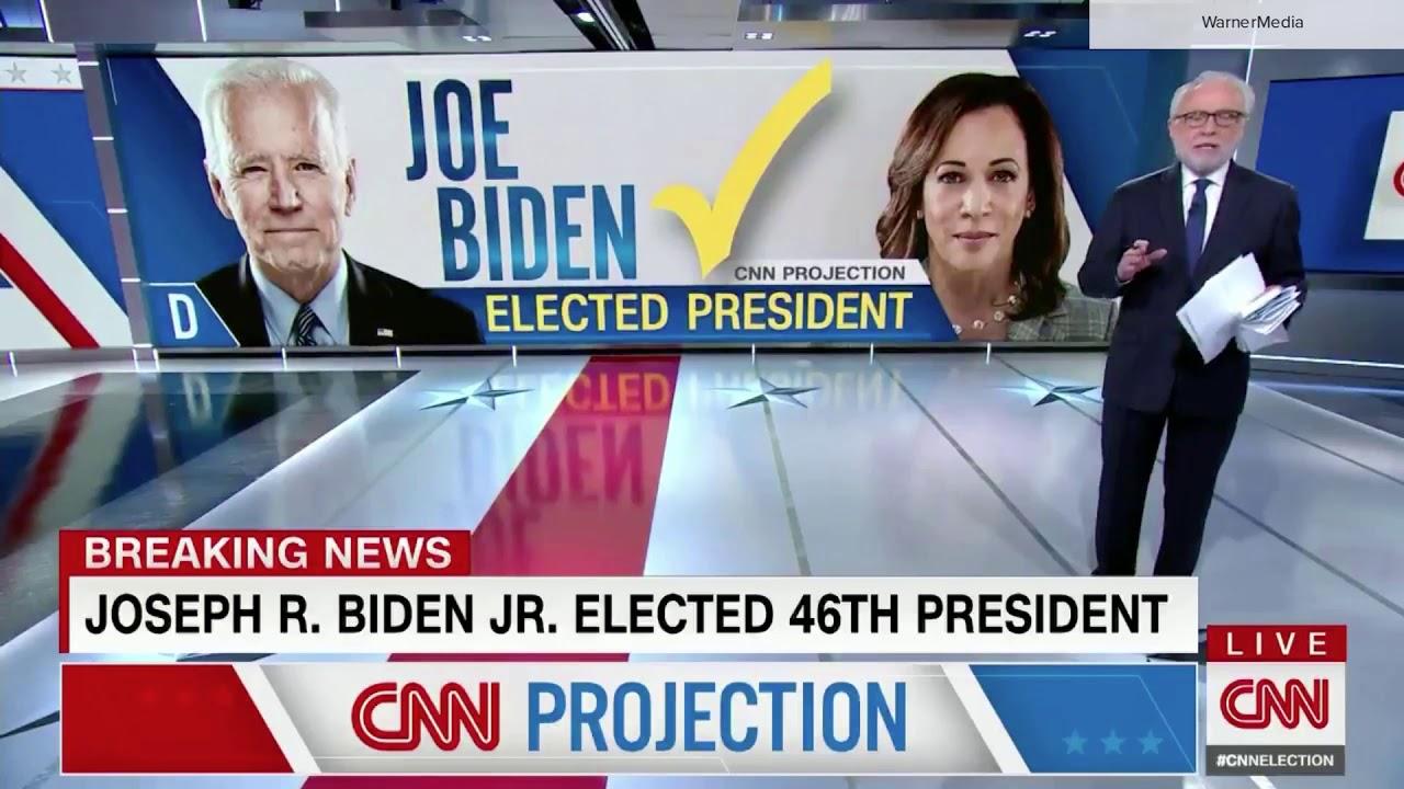 CNN calls 2020 election for Joe Biden