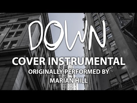 Down (Cover Instrumental) [In the Style of Marian Hill]