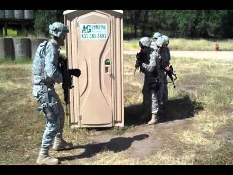 Us Army Room Clearing How To Clear A Porta Latrine
