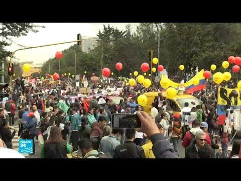 كولومبيا: مئات الآلاف يتظاهرون والسلطات تحذر وتغلق الحدود  - نشر قبل 4 ساعة