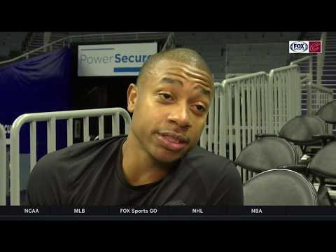 Isaiah Thomas discusses inspiration for Book Of Isaiah 2 with Allie Clifton