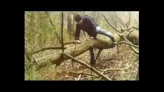 Halálösvény (AMATŐR magyar horror) Teljes film (found footage horror)