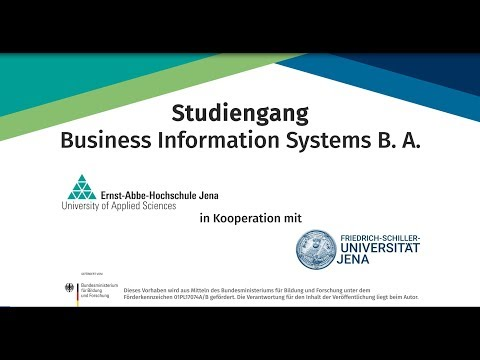 Studiengang Business Information Systems B.A. an der EAH Jena und der Uni Jena studieren