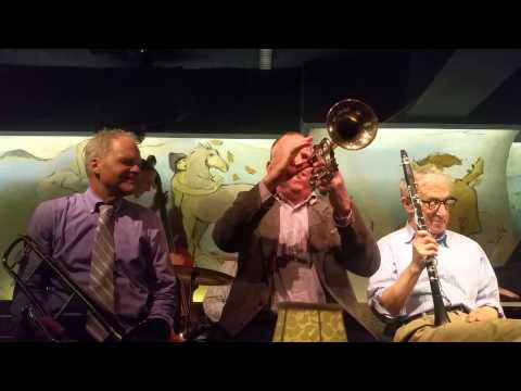 Woody Allen & Eddy Davis New Orleans band @ Carlyle, Oct. 5th. 2015